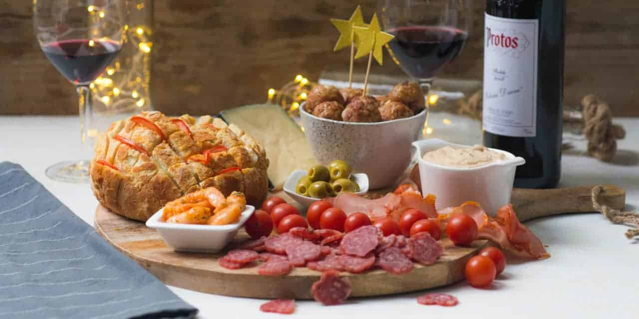 Ribera del Duero smaakt perfect met deze Spaanse borrelplank