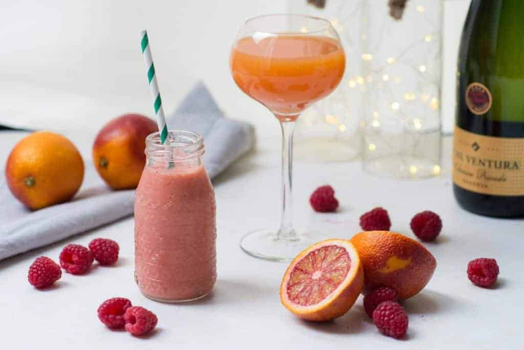 bloedsinaasappel, Valentijnsdag, Valentijn, mimosa, smoothie