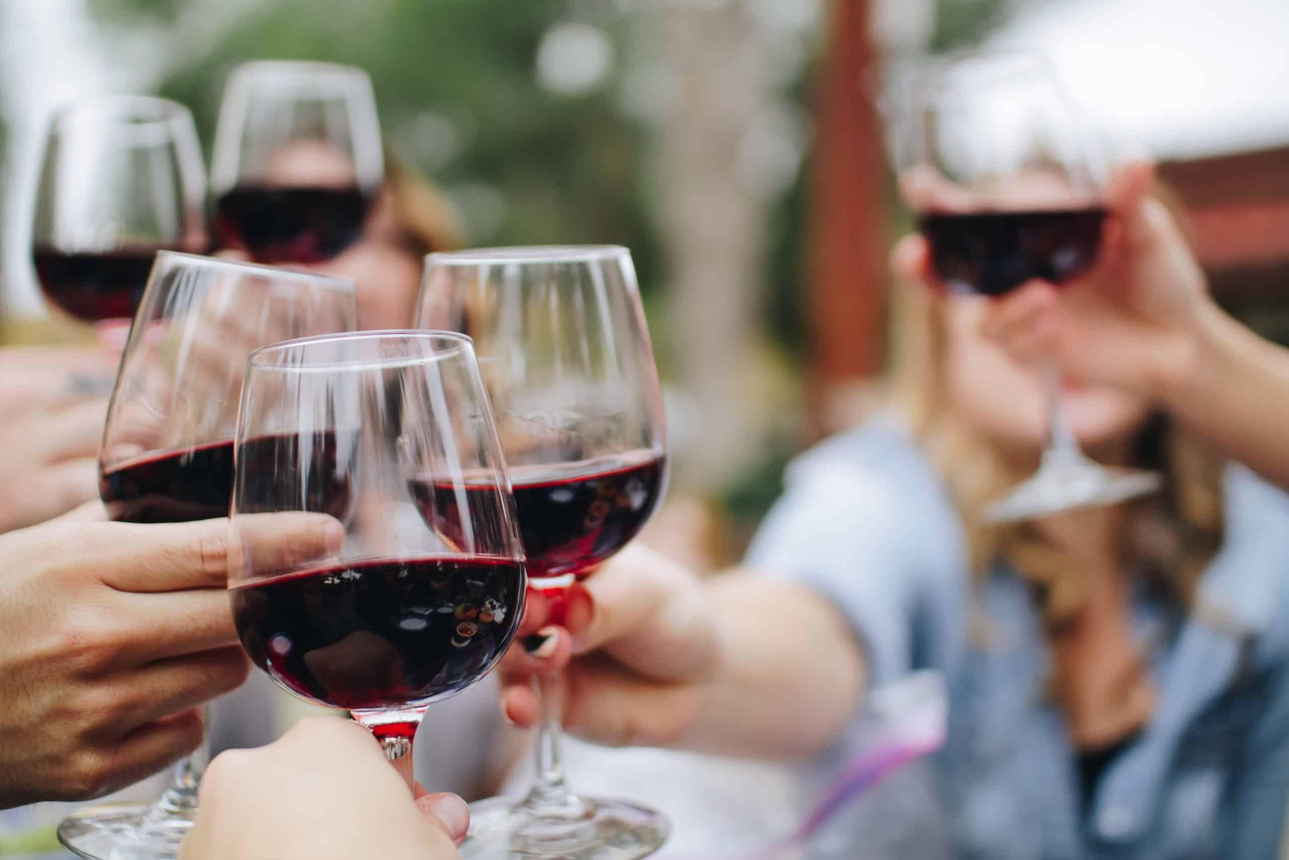 5 redenen om wijn te drinken