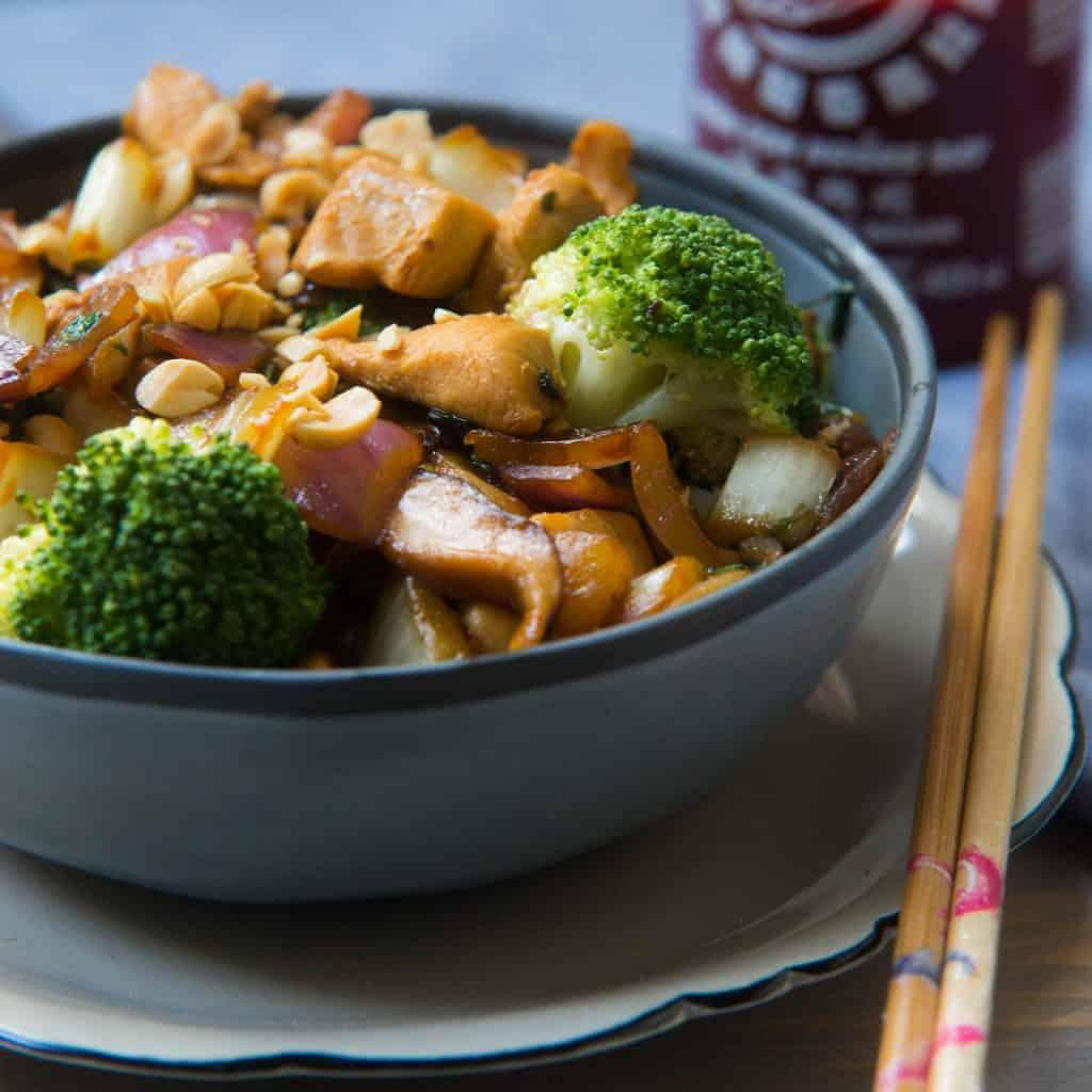 broccoli, kip, wokschotel, superfoods