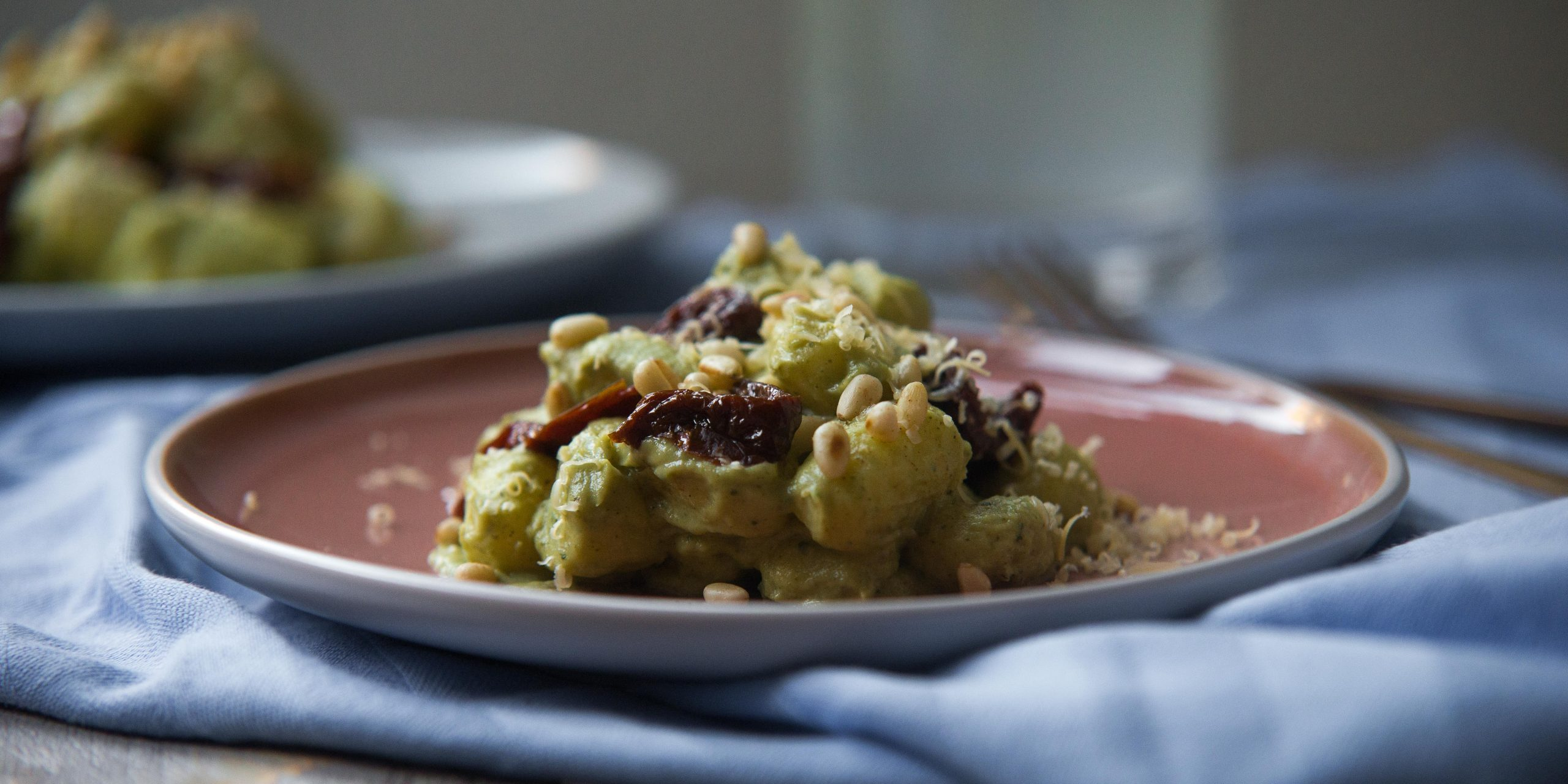 Gnocchi met avocado-broccolisaus uit Luuk's Kitchen, Gnocchi, avocado-broccolisaus, Luuks Kitchen