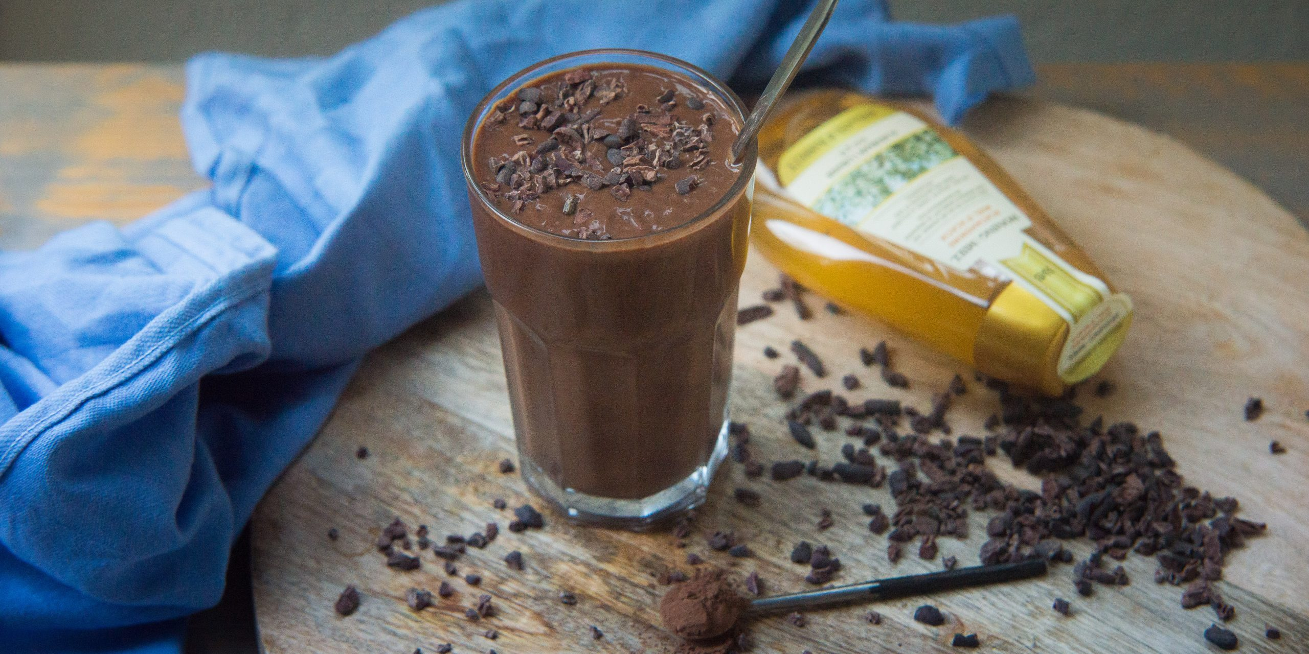 hot chocolate smoothie, chocolate, smoothie