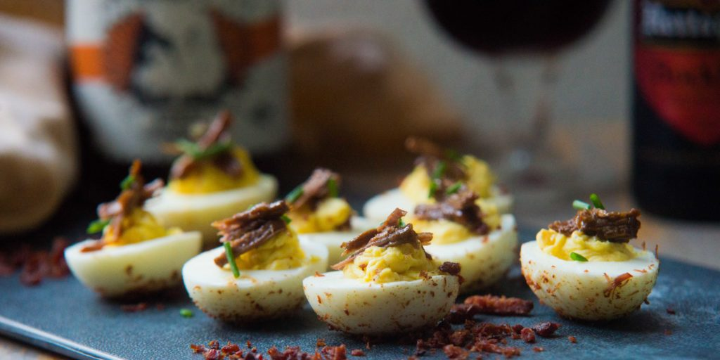 Jord Althuizen, BBQ Feast on Fire, Deviled eggs