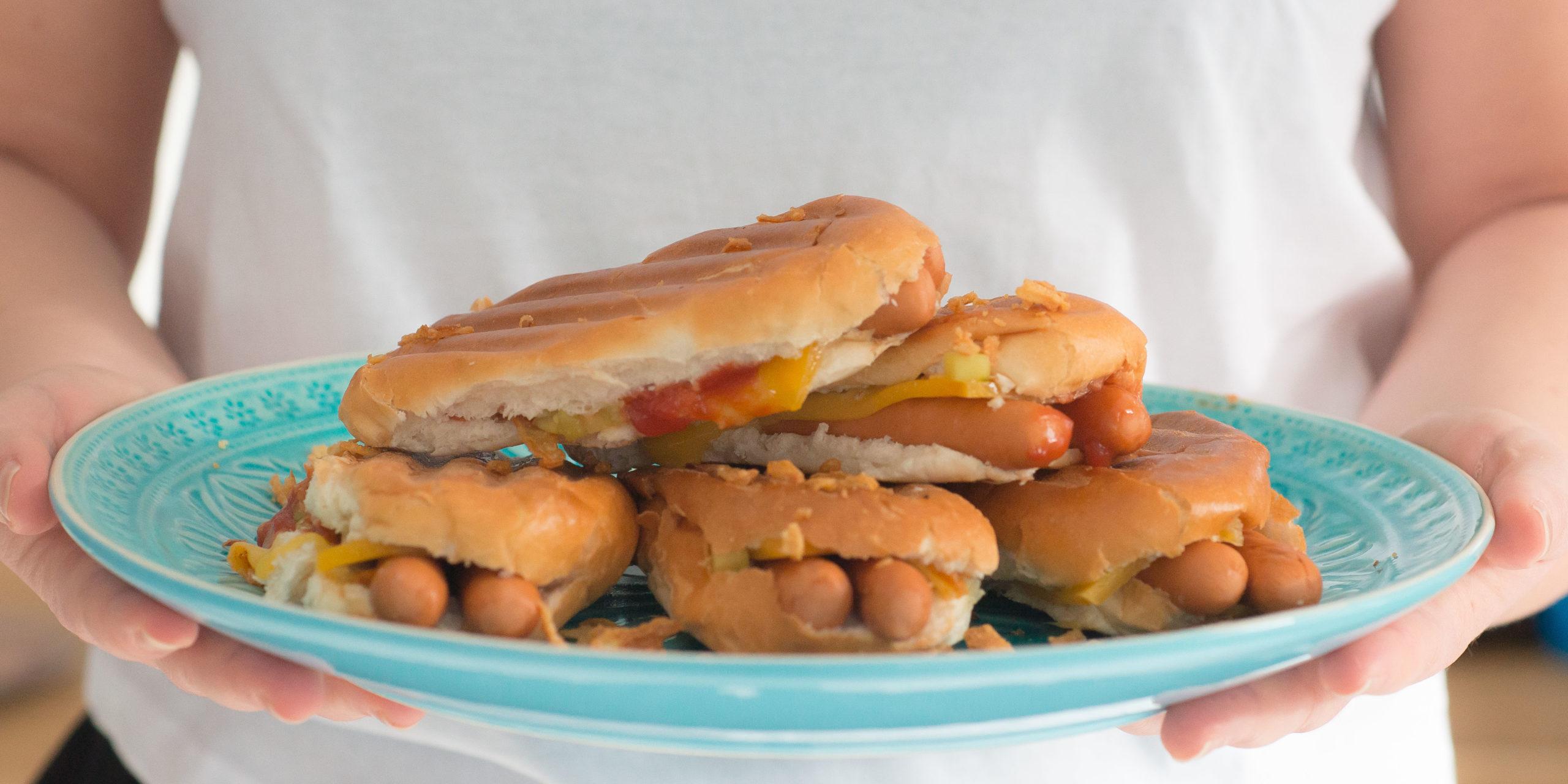 tosti hotdog