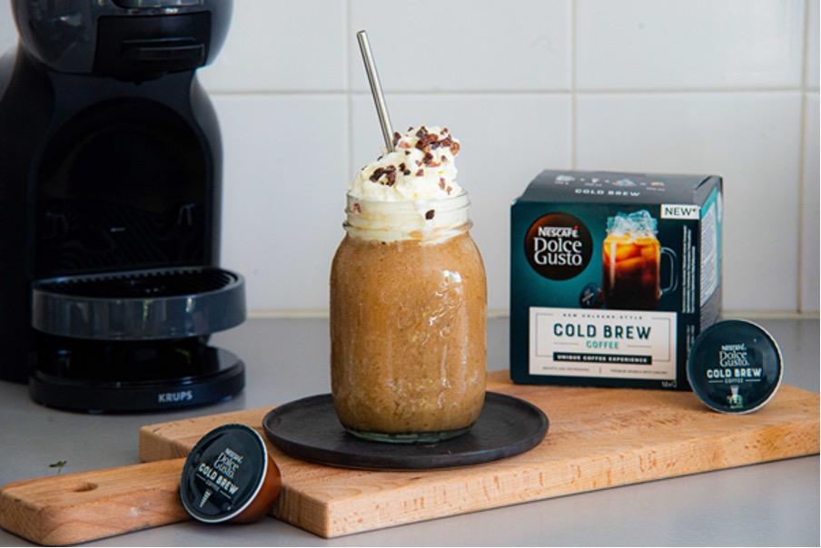 Nescafe, frappuccino, cold brew